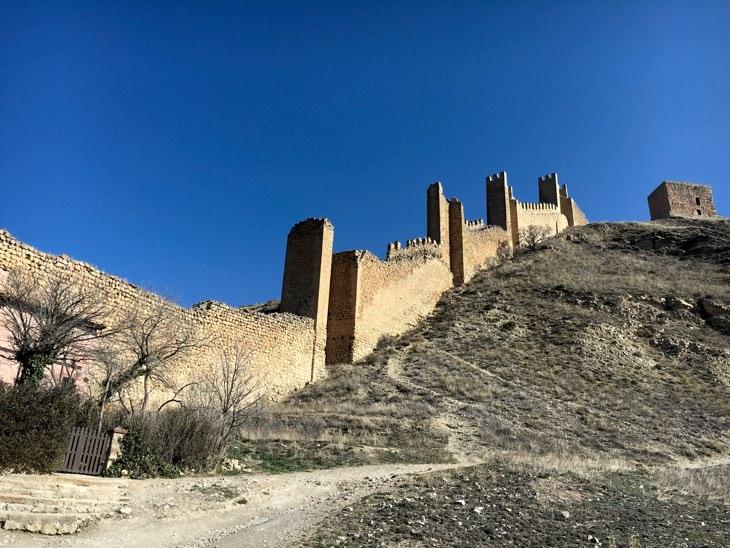 альбаррасин стена