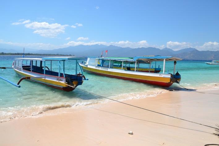 gili boats
