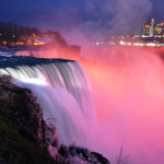 niagara falls winter US