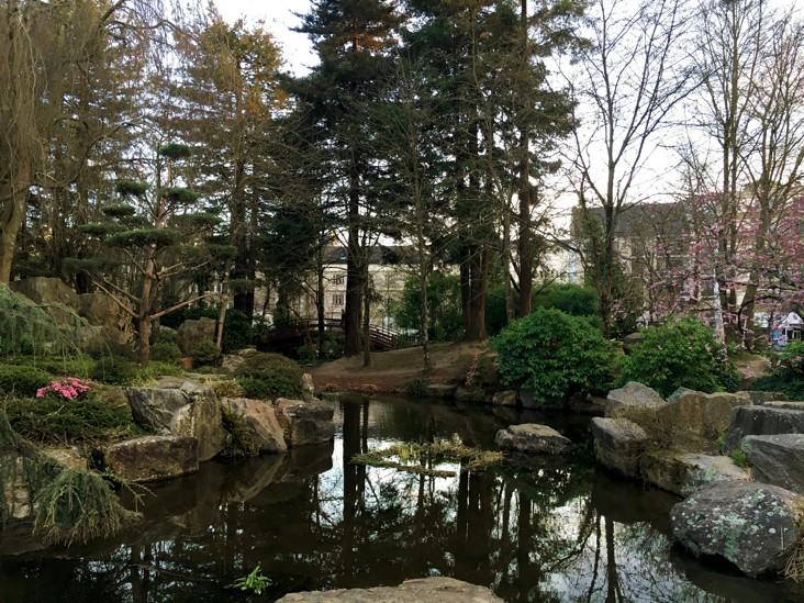 ботанический сад нант
