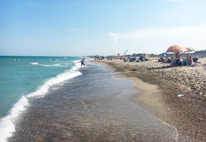beach pinedo valencia