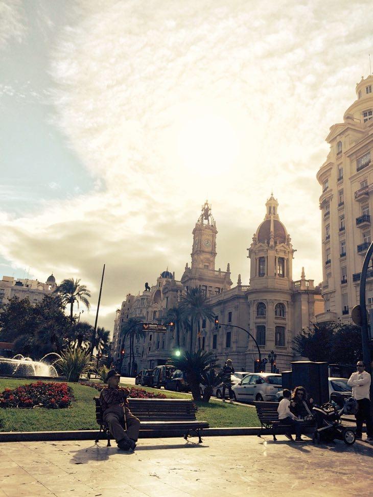 площадь мэрия Валенсия