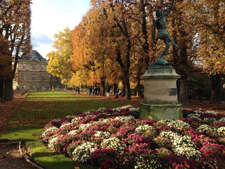 jardin luxembourg october