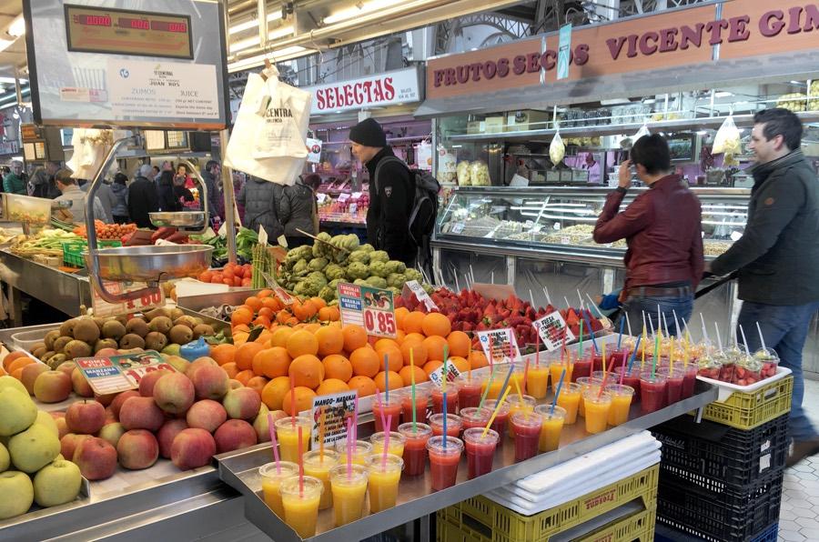 фрукты фрэши палатки рынок Испания