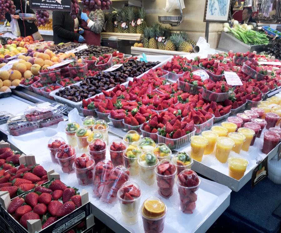 Фрэши рынки Валенсии