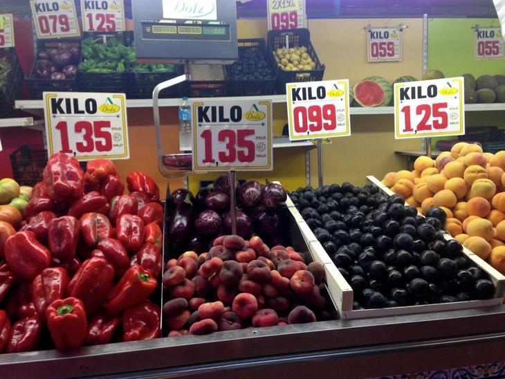 mercado valencia fruta