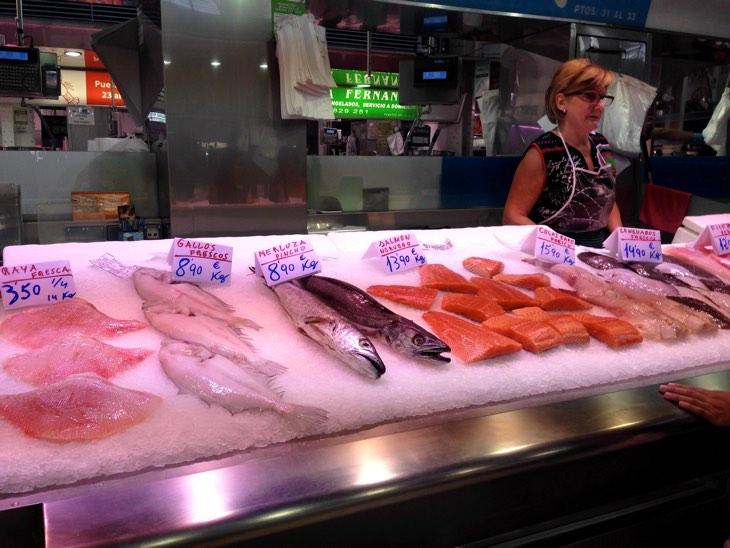 рыбный рынок валенсия
