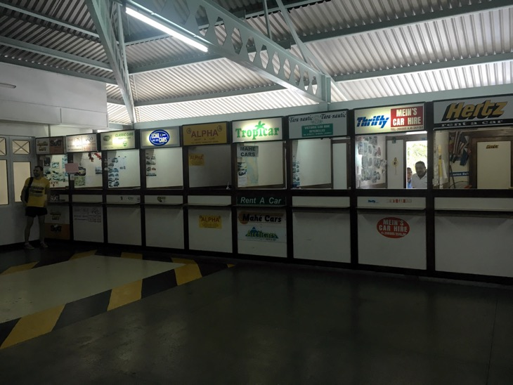 mahe rent a car airport