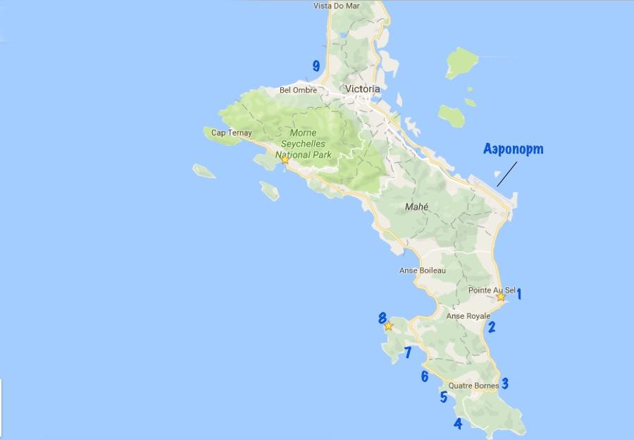 map mahe