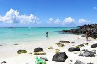 quite beaches mauritius