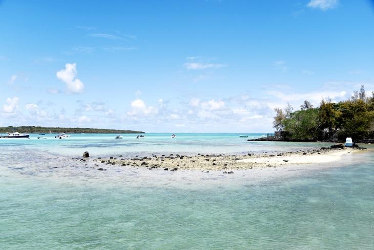 райские пляж маврикий