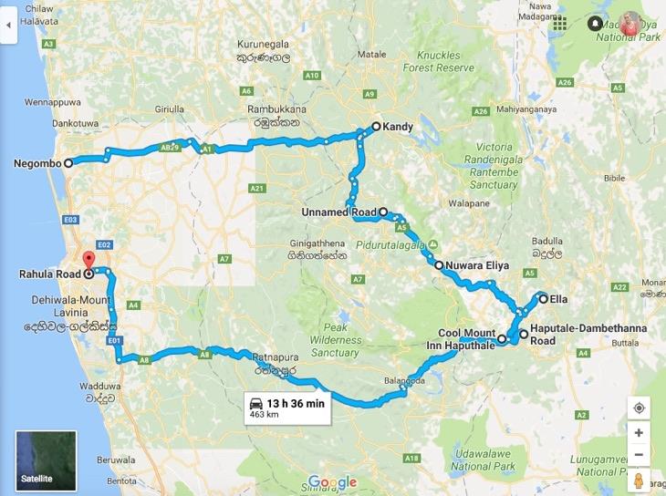 план поездки на шри-ланку