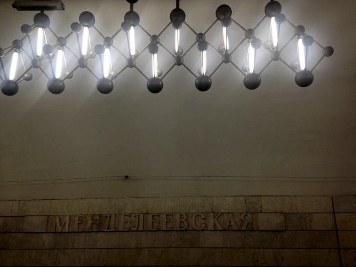 mendeleev metro station