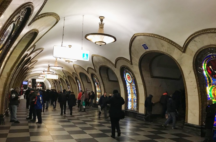 guided metro tours moscow