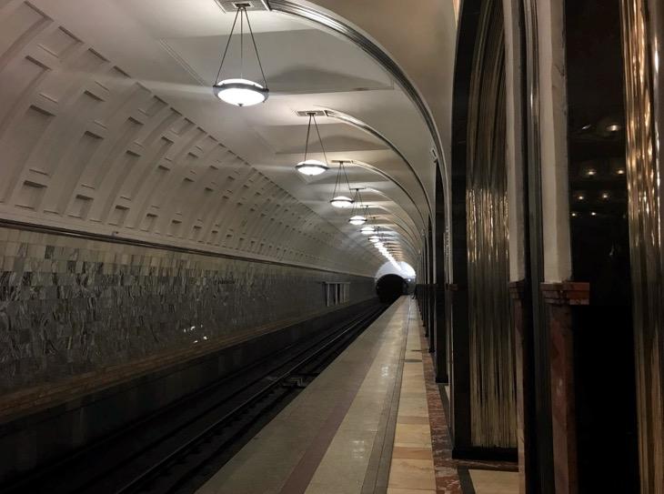 plataforma metro moscu