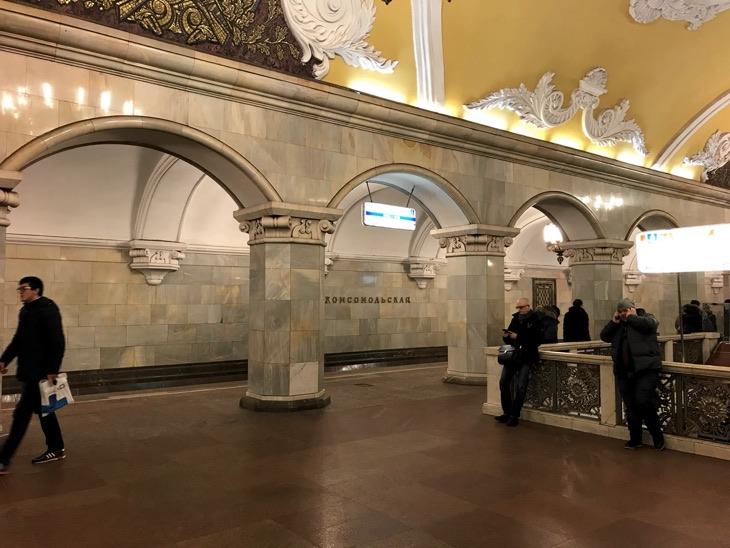 estaciones sovieticas moscu metro