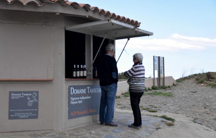 wine border france spain