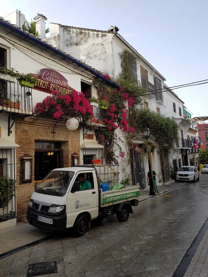 beautiful streets marbella