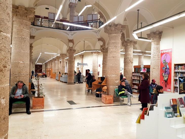 библиотека валенсия