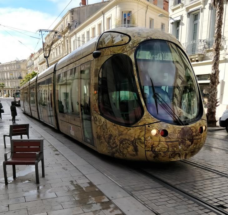 общественный транспорт монпелье