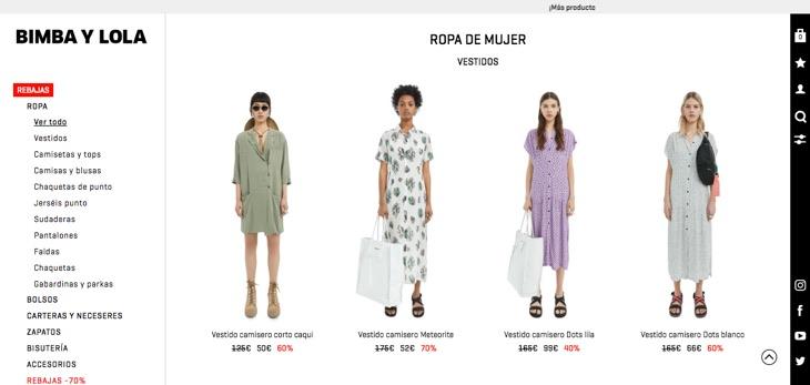 платья испанских брендов