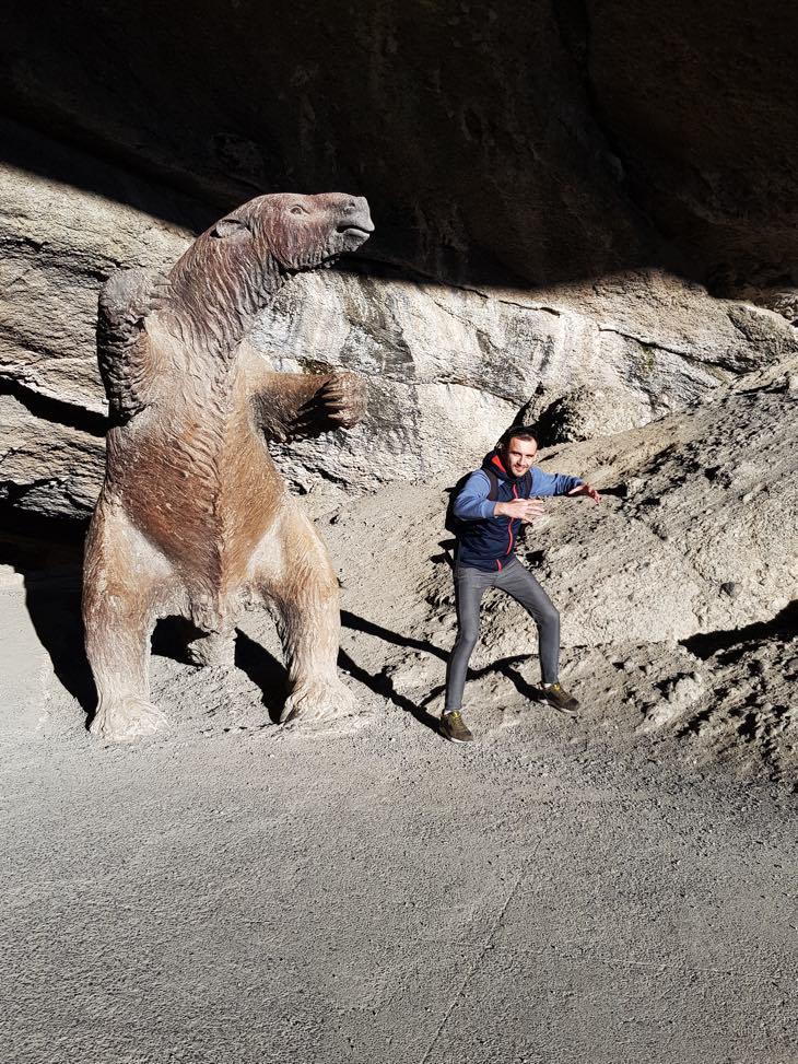 вымерший гигантский ленивец