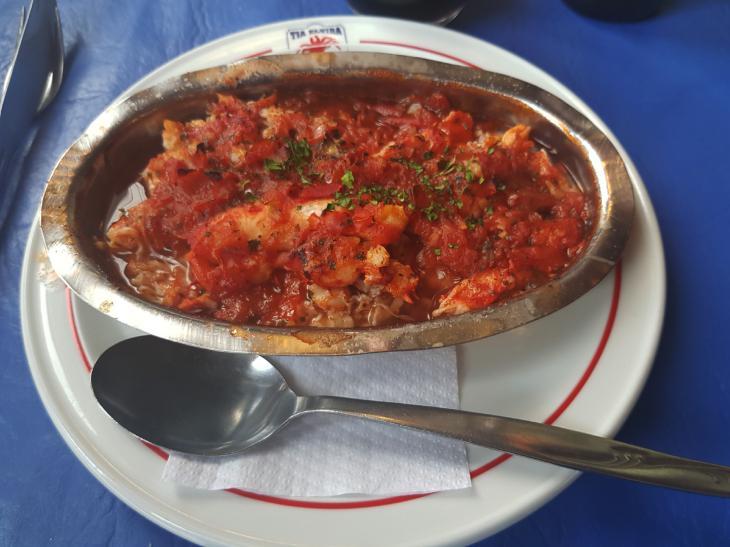 crab menu ushuaia