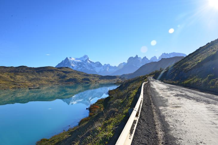 lagos montañas chile