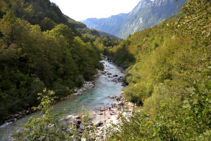 rivers slovenia