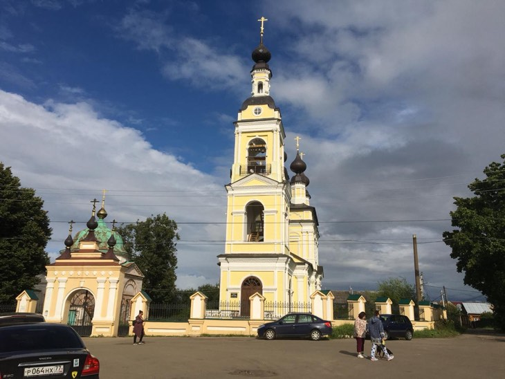 церковь плес
