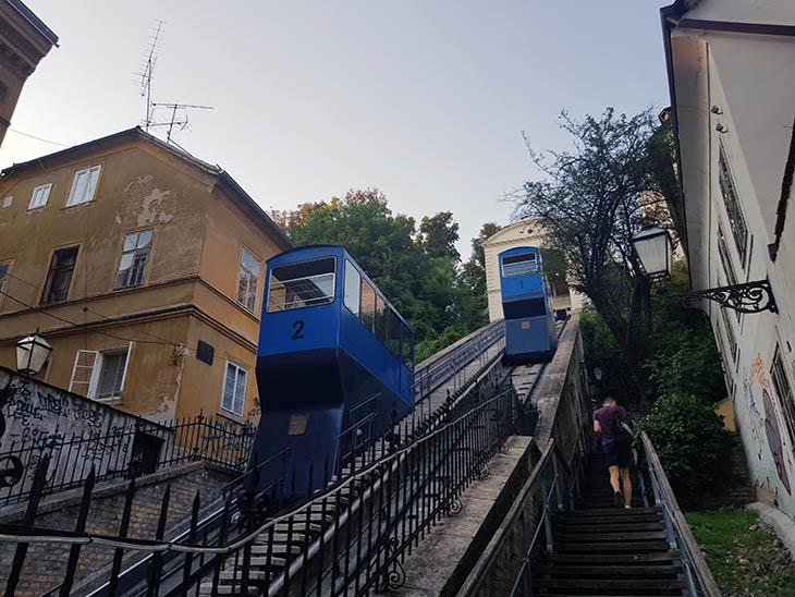Сколько стоит фуникулер Загреб