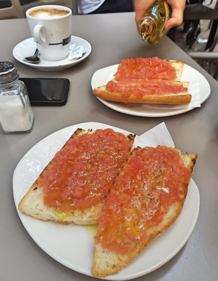 завтрак испания