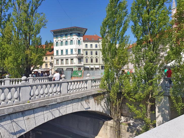 мост любляна