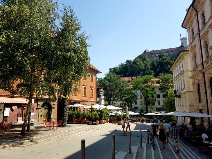 squares ljubljana