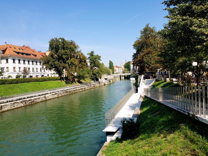 river ljubljana