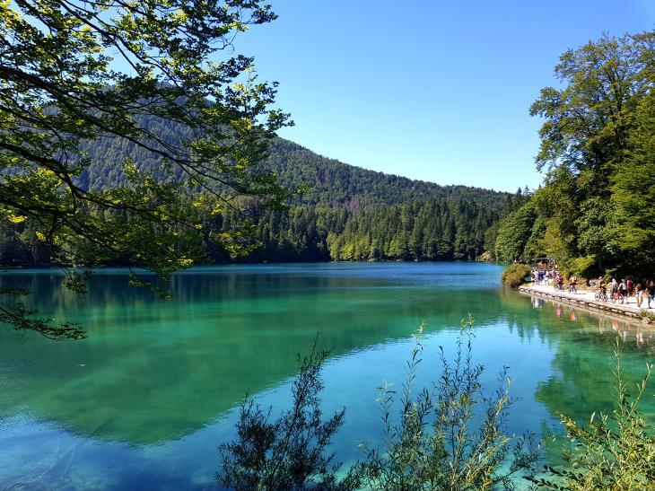 озера граница италия словения