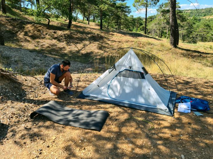 отдых палатки франция