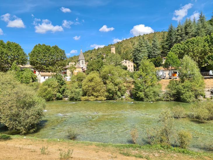 beautiful village south france