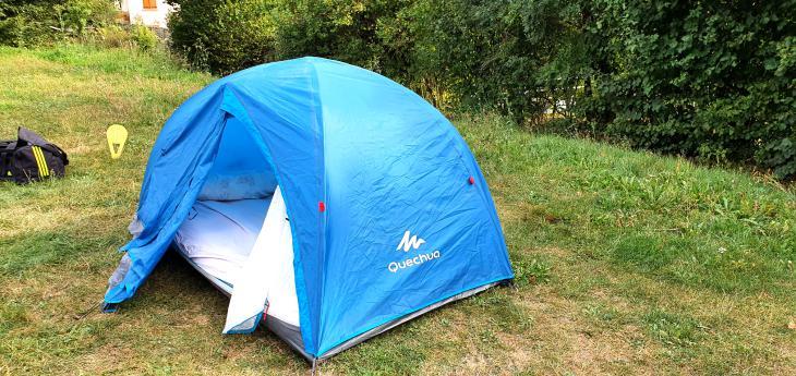 отдых в палатказ франция