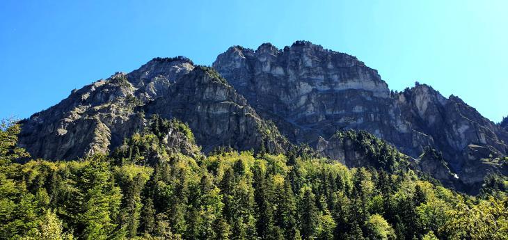 горы европа